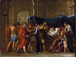 Nicolas Poussin - Image: Nicolas Poussin La Mort de Germanicus