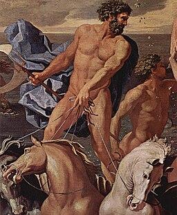Nicolas Poussin - Le Triomphe de Neptune ou La Naissance de Vénus (détail)