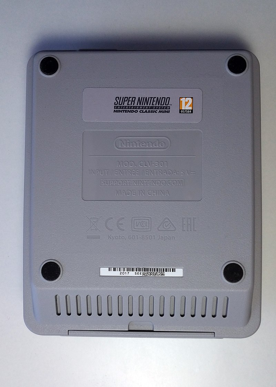 File:Nintendo Classic Mini Super Nintendo Entertainment System - U.jpg