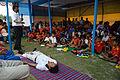 Nisith Ranjan Chowdhury Explains Savasana Benefits - Football Workshop - Nisana Foundation - Sagar Sangha Stadium - Baruipur - South 24 Parganas 2016-02-14 1398.JPG