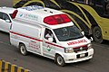 Nissan Elgrand Paramedic (E50) Ambulance, Bangladesh. (34588210094).jpg