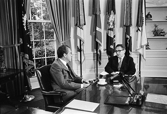 Nixon and Kissinger - Flickr - The Central Intelligence Agency