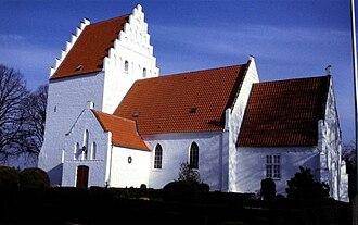 Ønslev - Ønslev Church, Falster