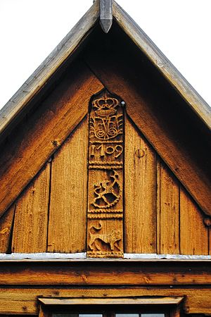 Nore Stave Church - Image: Nore Stavkirke 06 (15187738940)