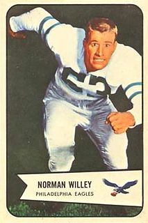 Norm Willey American football player
