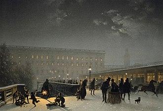 1850 in Sweden - Norrbrobasaren 1850