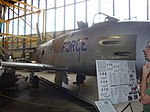 North American F-86 Sabre at the Wings Over the Rockies Air and Space Museum (4282653461).jpg