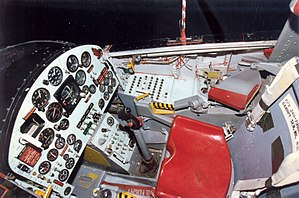 North American X-15 - Cockpit of an X-15
