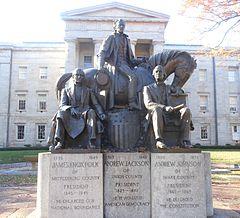 North Carolina Presidents Statue.JPG