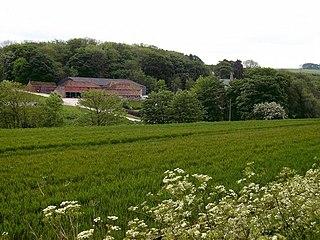 North Ormsby village in the United Kingdom