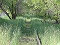 Northwest along tracks, E 12715 South, Draper, Utah, Apr 15.jpg
