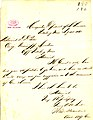 Note from Jno. S. Rawlins, headquarters, Department of the Tennessee, Vicksburg, Mississippi, to (David D.) Porter, July 11, 1863.jpg