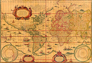 World map (1606)