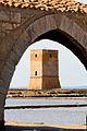 Nubia - La torre dall'arco del museo.JPG