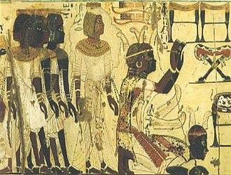 Nubia - Nubians in worship