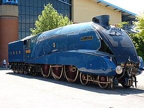 伦敦及东北铁路A4型蒸汽机车4468野鸭号
