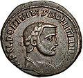 Nummus Domitius Domitianus (obverse).jpg