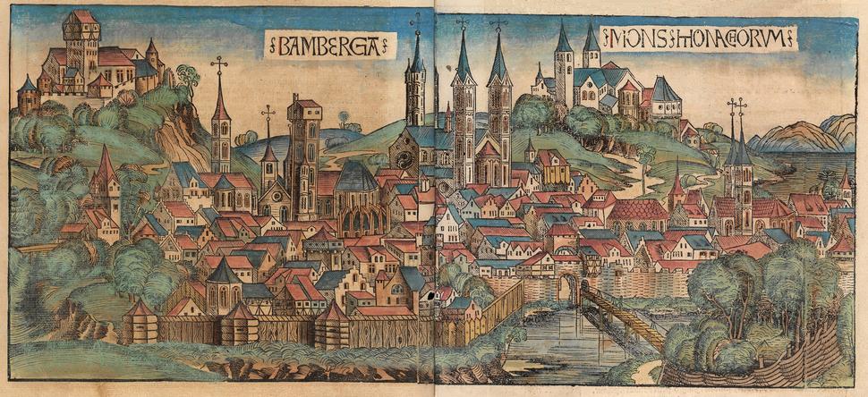 Nuremberg chronicles - BAMBERGA