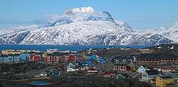 Sermitsiaq - Nuuks landsmärke
