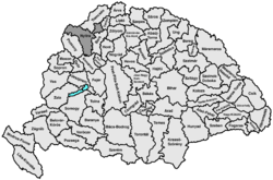 Location of Nyitra