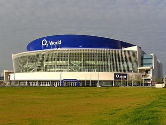 2008–09 Euroleague - The Final Four was held in the O<sub>2</sub> World in Berlin