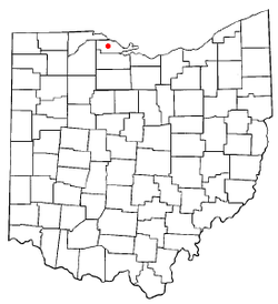 Location of Rocky Ridge, Ohio