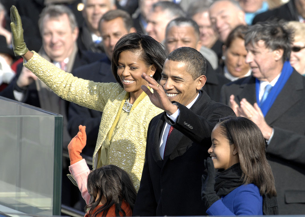 File obama family after inaugural address 1 20 09 hires for First president to be inaugurated on january 20