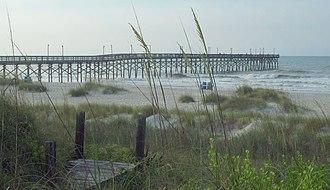 Ocean Isle Beach, North Carolina - Ocean Isle Beach Fishing Pier