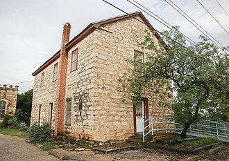 National Register of Historic Places listings in Bandera County, Texas - Image: Old Bandera Courthouse (1 of 1)
