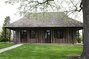 Cahokia, Illinois - Old Cahokia Courthouse in Cahokia