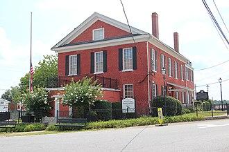 Dawsonville, Georgia - Historic Dawson County Courthouse