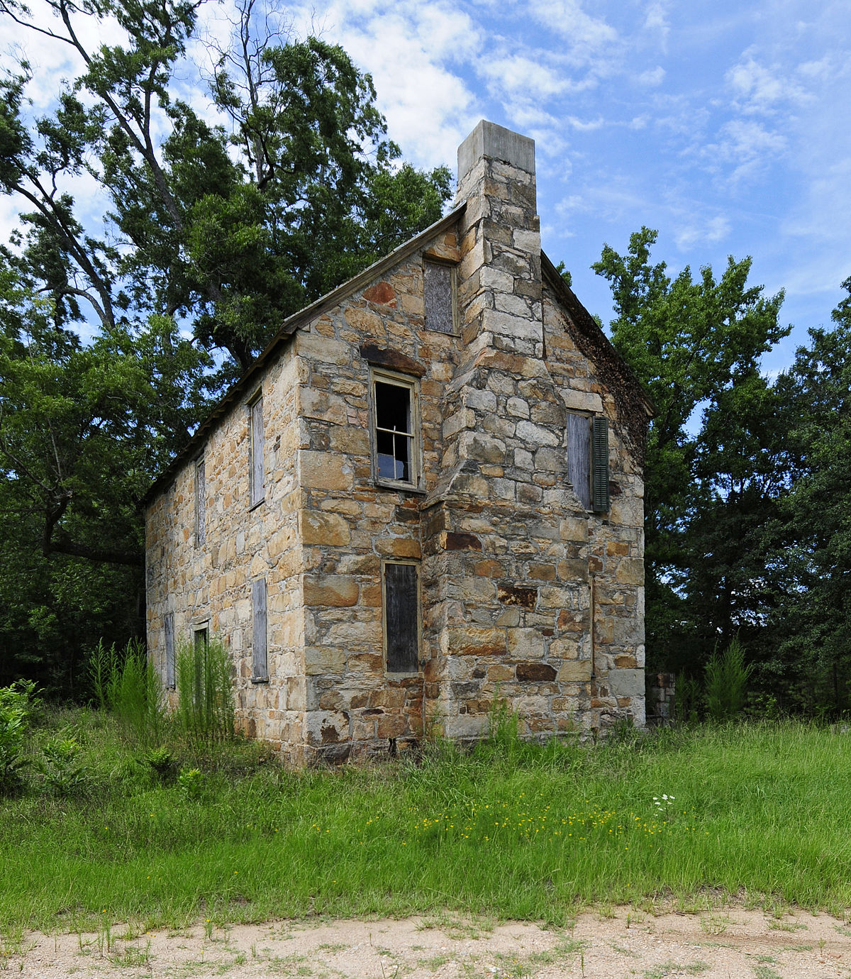 Rock For House Exterior : Old stone house winnsboro south carolina wikipedia
