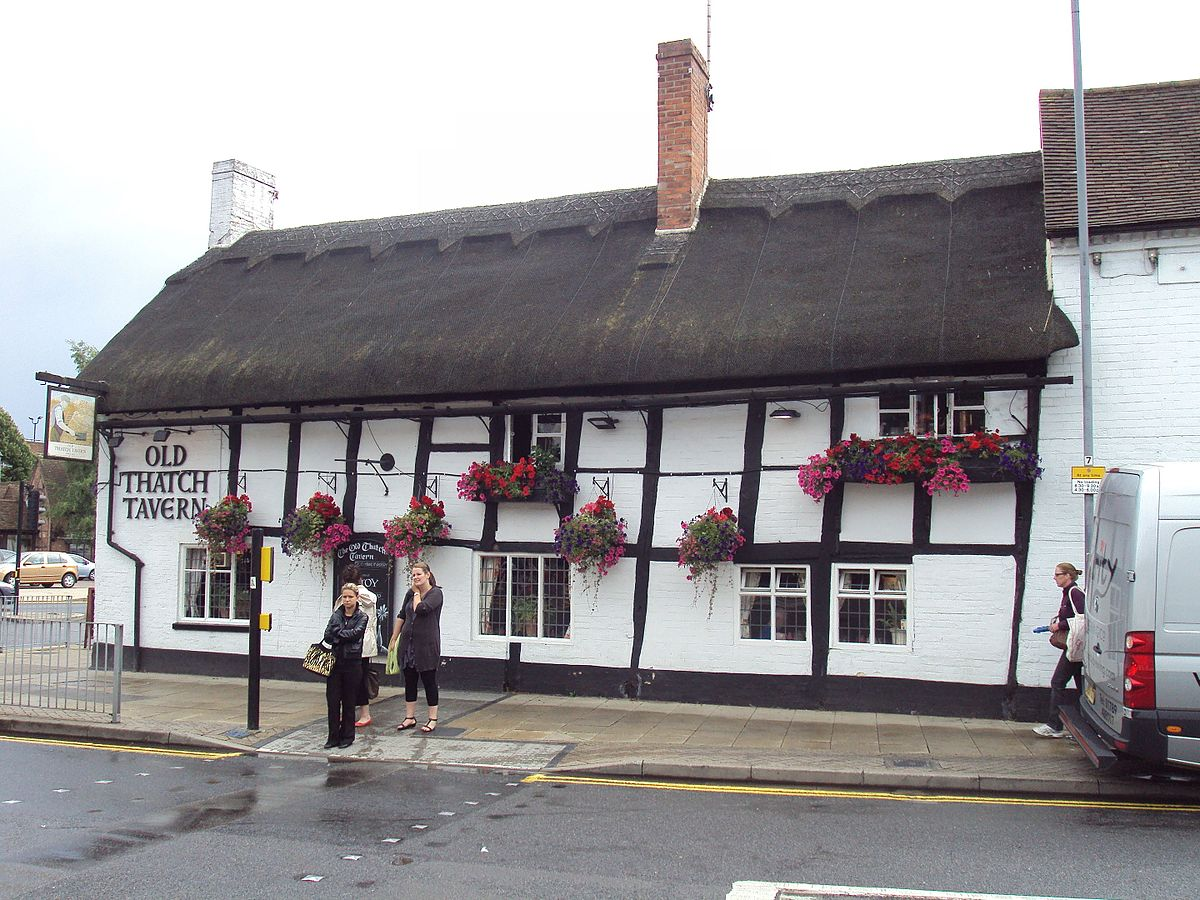 The old thatch tavern stratford upon avon wikipedia for The stratford