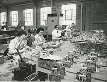 Workers at the old Torbal workshop Old Torbal Workshop.jpg
