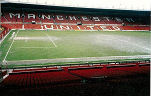 1994 Kangaroo tour of Great Britain and France - Image: Old Trafford march 1992