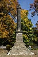 Das 1832 entstandene Denkmal für Johann Elias Olfermann (Quelle: Wikimedia)