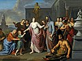 Olympias presenting the young Alexander the Great to Aristotle by Gerard Hoet before 1733 MH.jpg