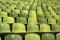 Olympic Stadium Munich - Rows of Seats, April 2019 -01.jpg