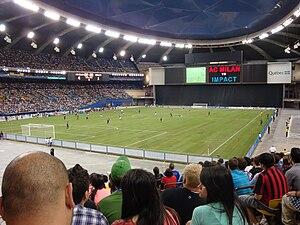 Canada–Mexico–United States 2026 FIFA World Cup bid - Image: Olympic Stadium Soccer