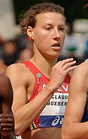 Ophélie Claude-Boxberger Women 800 m French Athletics Championships 2013 t161139 (cropped).jpg