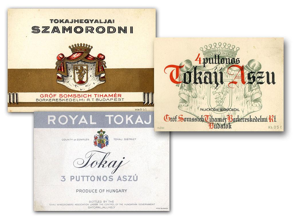 Etiquette de vin hongrois - Photo de Takkk