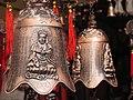 Ornamental brass bells in Madikeri, Karnataka.jpg