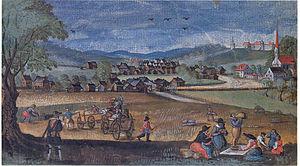 Ortenburg (Bavaria) - Image: Ortenburg 1620