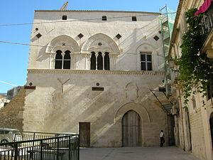 Palazzo Montalto - Façade of Palazzo Montalto