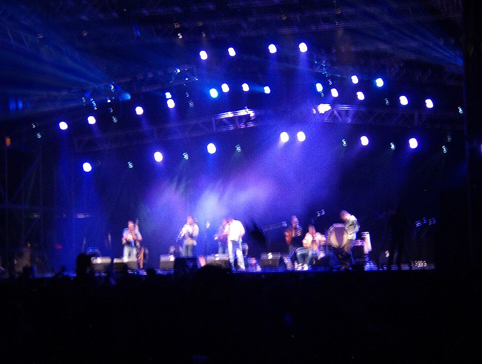 Ortigueira.Festival celta.Concerto