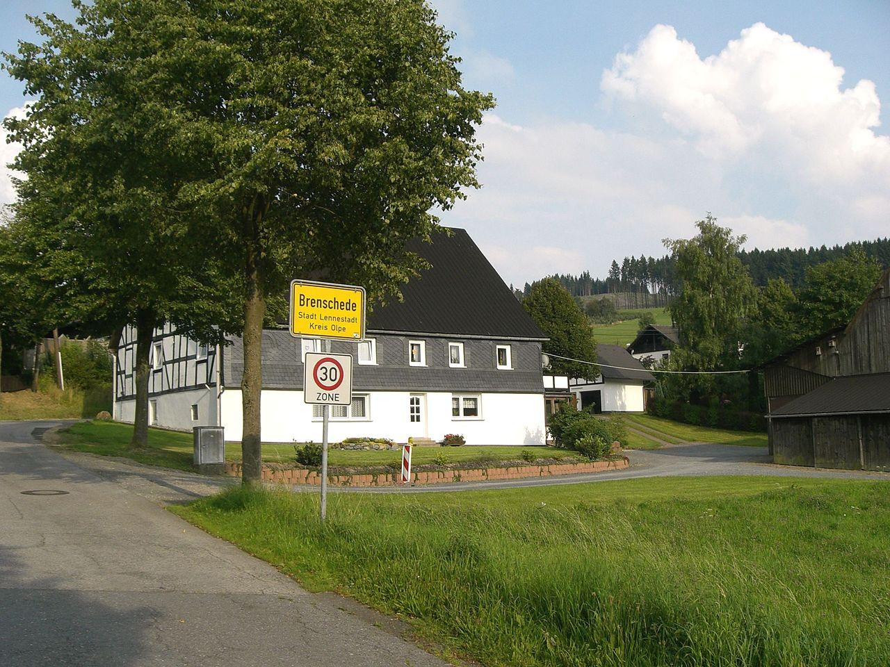 Ortseingang von Brenschede