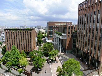 Osaka University of Economics - Image: Osaka University of Economics C and D building
