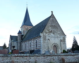 Notre-Dame church in Osmoy.