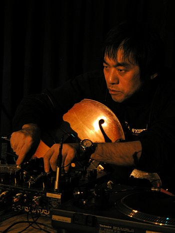 Japanese Jazz musician Otomo Yoshihide at Club...