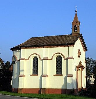 Feldkirch (Hartheim) - Image: Ottilienkapelle in Hartheim Feldkirch, erbaut 1863